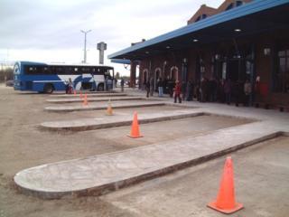 foto de la terminal nueva